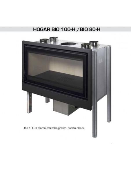 HOGAR DE LEÑA BIO 80-H