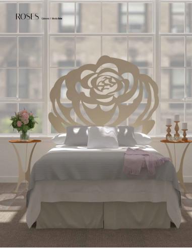 Cabecero de forja Roses